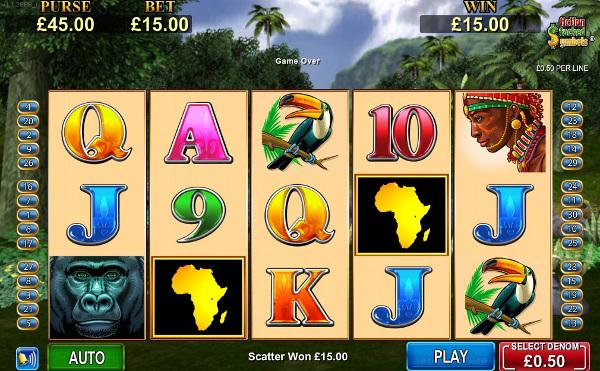 Игровой автомат African Diamond - почувствуй дух Африки