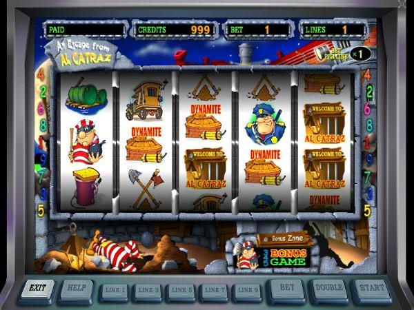 Игровой автомат Alcatraz - для плохих парней
