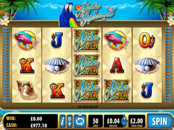 Игровой автомат Aloha Island - приключения на острове удачи