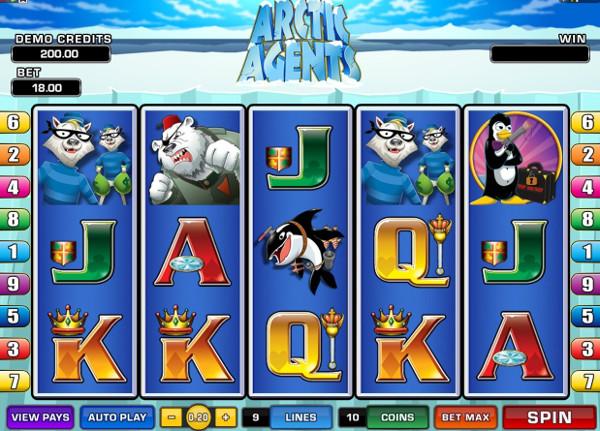 Игровой автомат Arctic Agents - для любителей морозов