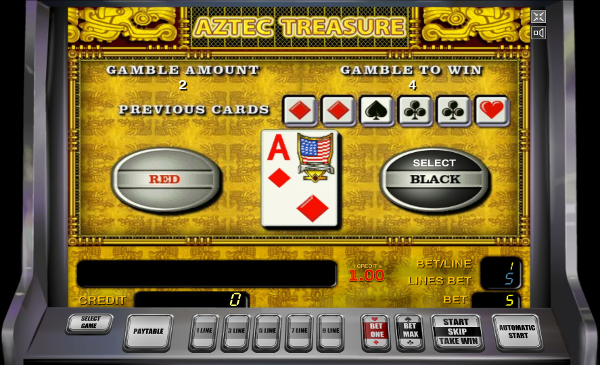 Игровой автомат Aztec Treasure - найди забытые богатства ацтеков в казино Вулкан