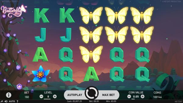 Игровой автомат Butterfly Staxx - играй выгодно в Вулкан казино