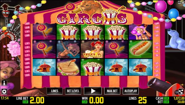 Игровой автомат Circus HD - крупные выигрыши только в Вулкан Удачи казино