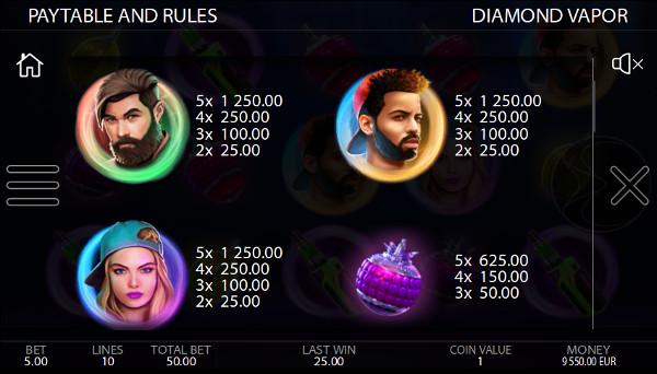 Игровой автомат Diamond Vapor - скачать Вулкан Делюкс казино и сорви джекпот