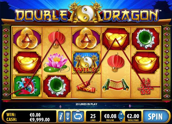 Игровой автомат Double Dragon - уникальные бонусы и призы