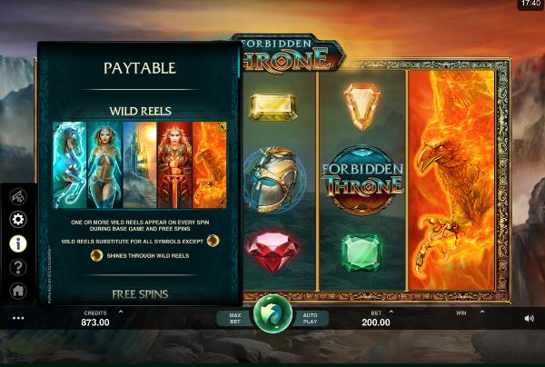 Игровой автомат Forbidden Throne - на поиски драгоценных камней в казино Вулкан