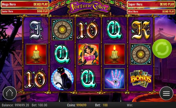 Игровой автомат Fortune Teller - настоящее чувство азарта в Фараон казино
