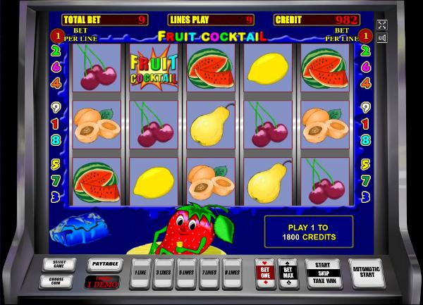 казино вулкан фруктовый коктейль играть