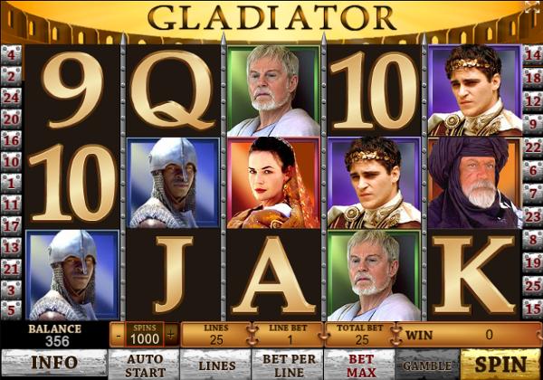 Игровой автомат Gladiator - завоюй золото у гладиаторов в казино Azino777