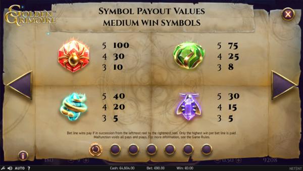 Игровой автомат Golden Grimoire - в Адмирал Х высокие шансы на огромные выигрыши