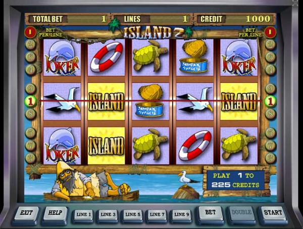 Игровой автомат Island 2 - для тех кто любит одиночество