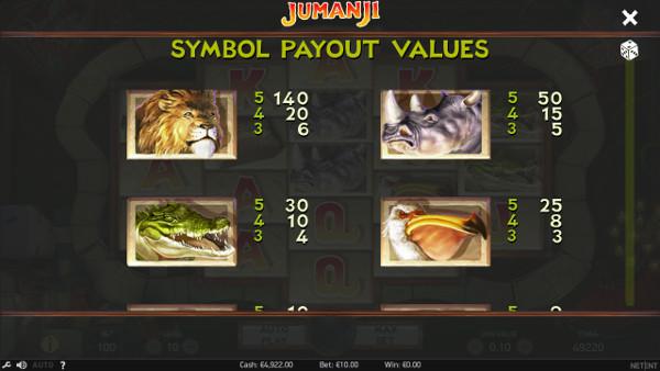 Игровой автомат Jumanji - играть в лучшие слоты казино Вулкан