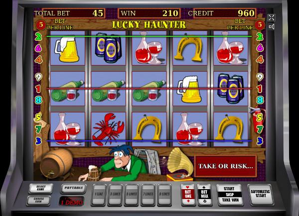 Игровой автомат Lucky Haunter - в казино Плей Фортуна по крупному выиграй