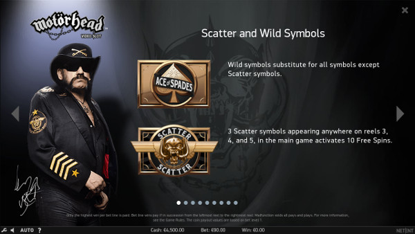 Игровой автомат Motorhead - испытай свою фортуну в легендарном казино Вулкан онлайн