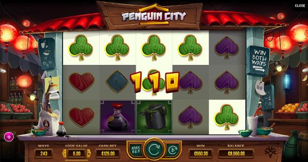 Игровой автомат Penguin City - регулярные выигрыши в Вулкан Ставка казино