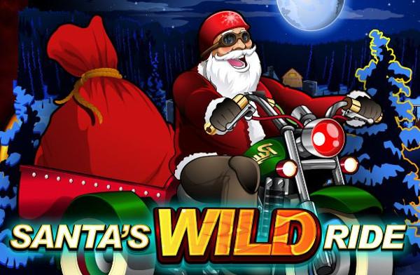 Игровой автомат Santa's Wild Ride - щедрые подарки ждут вас