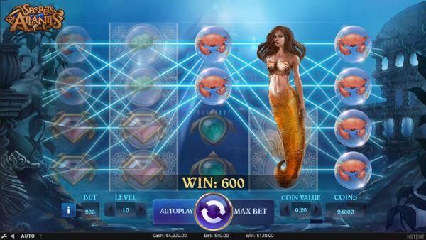 Игровой автомат Secrets of Atlantis - играть выгодно в Азино 777 казино онлайн