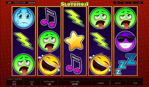 Игровой автомат Slotomoji - играть онлайн на выгоду в Фараон казино