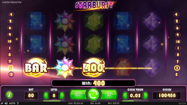 Игровой автомат Starburst - в онлайн казино Вулкан Вегас выгодно проведи время