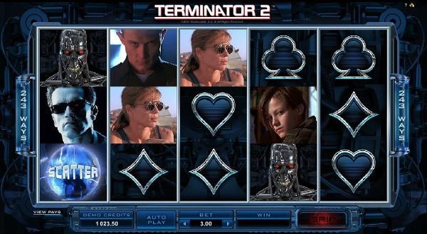Игровой автомат Terminator 2 - для любителей ретро фильмов