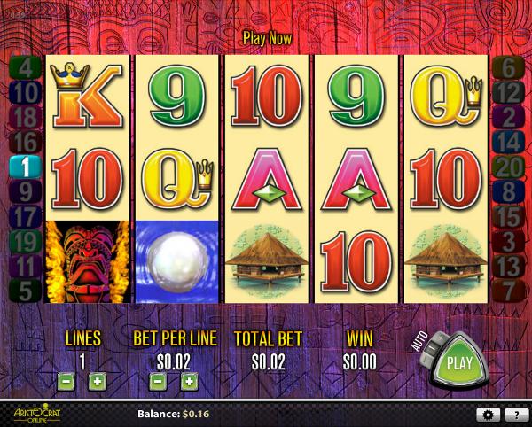 Игровой автомат Tiki Torch - гарантированные выигрыши, бонусы и призы