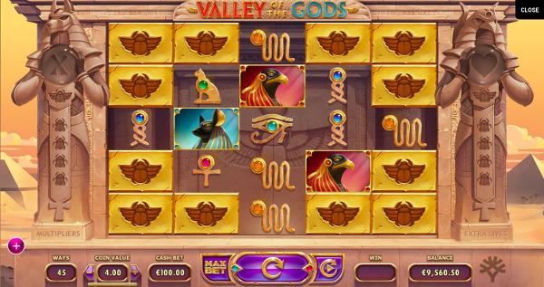 Игровой автомат Valley of The Gods - в казино Вулкан Вегас играй в слоты от Yggdrasil