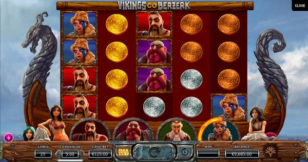 Игровой автомат Vikings Go Berzerk - на официальный сайт вулкан играть выгодно