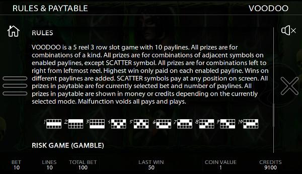 Игровой автомат Voodoo - на сайте Вулкан 24 казино играйте в самые щедрые слоты
