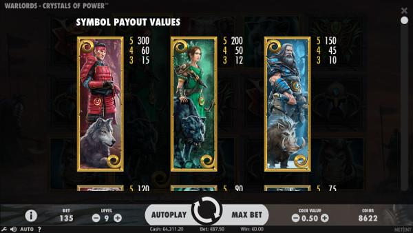 Игровой автомат Warlords: Crystals of Power - за незабываемыми победами в Вулкан казино