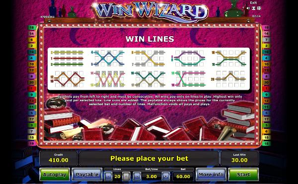Игровой автомат Win Wizard - играй и побеждай в казино Вулкан на деньги
