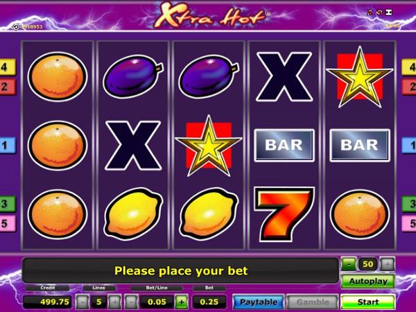 Игровой автомат Xtra Hot - классика жанра с необыкновенной щедростью