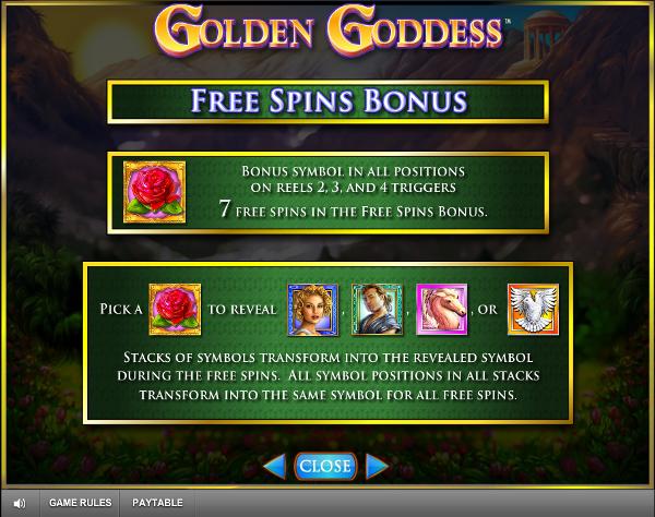 Игровой слот Golden Goddess - играй на деньги в самые прибыльные автоматы