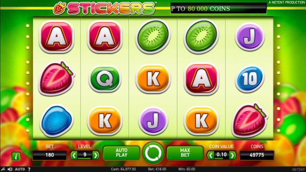 Игровой слот Stickers - в аппараты НетЕнт играть в Джойказино казино