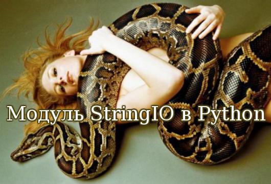 Модуль StringIO в Python
