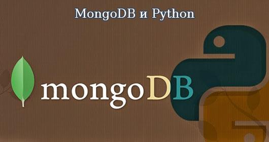 mongodb и python