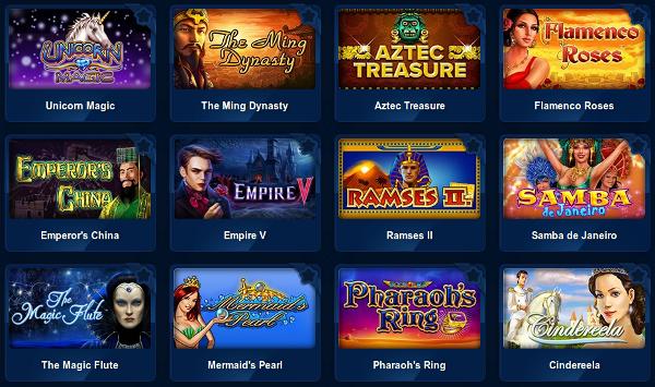 Новые игровые автоматы и классические слоты в казино Вулкан