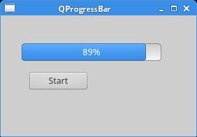 QProgressBar