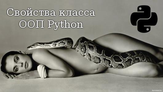 Свойства класса Python