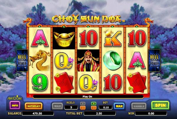 Восточная щедрость от Бога богатства с игровым автоматом Choy Sun Doa
